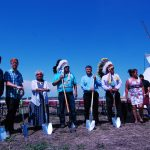 Sod turning for long-awaited new school